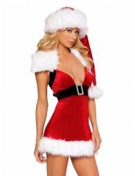Santa Velvet Fantasy Dress