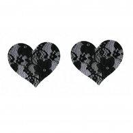 Nipple cover in heart shape
