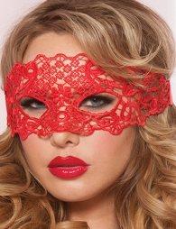 Enchanting Red Lace eye mask