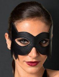 Black Leather Eye Mask