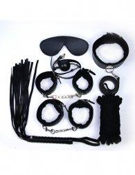 Black Leather Bondage Adult Sexy Toys
