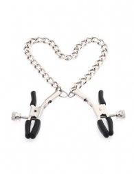 Silver Chain Nipple Clips