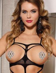 Resin Drill Tattoo Sticker Show Breast Stick Drill Bar Chest