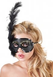 Mask with Feathers