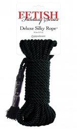 Series Deluxe Silky Rope Black Fetish Fantasy