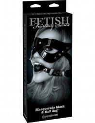Fetish Fantasy Limited Edition Masquerade Mask & Ball Gag