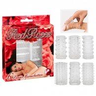 Red Roses Penis Sleeves