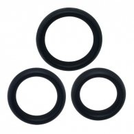 Timeless cock rings (3 pcs)