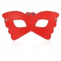 Butterfly mask red