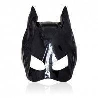 Cat mask large black