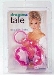 Dragonz Tale Anal Kugel Kette Pink