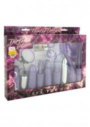 Dirty Dozen Sex Toy Kit - Purple