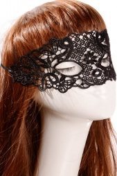 Fashion Hollow-out Lace Mask