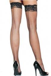 Back Seam Fishnet Stockings